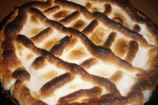 Receta de tarta de limón con pasta brise