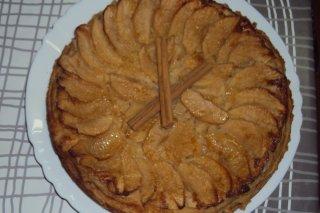 Receta de tarta de manzana al horno