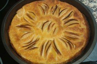 Receta de tarta de manzana alsaciana
