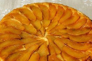 Receta de tarta de manzana con queso munster