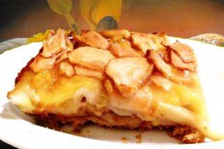 Receta de tarta de manzana con sobaos
