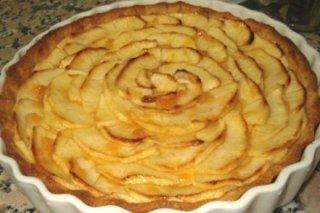 Receta de tarta de manzana mayks