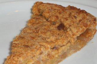 Receta de tarta de manzana y requesón