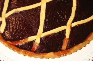 Receta de tarta de mermelada de ciruelas