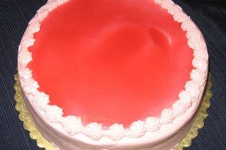Receta de tarta de mousse de fresa