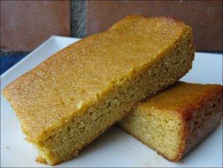 Receta de bizcocho de naranja y almendra (sin azúcar)