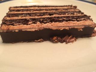 Receta de tarta de obleas exprés