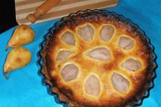 Receta de tarta de peras