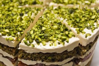 Receta de tarta de pistachos