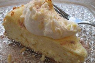 Receta de tarta de queso con almendras