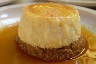 Receta de tarta de queso con salsa de naranja