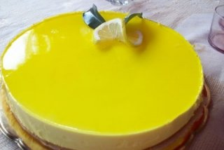 Receta de tarta de queso, limón y leche condensada