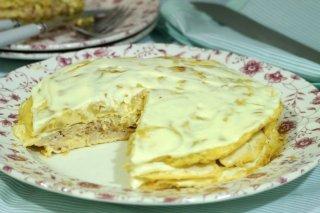 Receta de tarta de tortillas francesas
