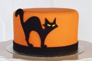Receta de tarta decorada para halloween
