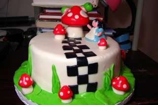 Receta de tarta fondant