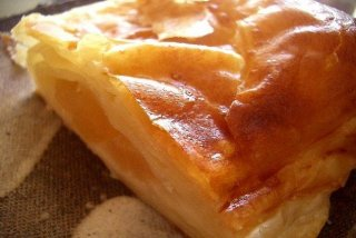 Receta de tarta invertida de manzana