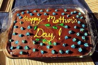 Receta de tarta para mamá