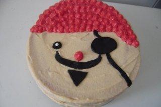 Receta de tarta pirata