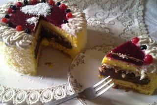 Receta de tarta san valentín