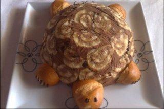 Receta de tarta tortuga