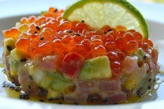 Receta de tartar de atún rojo