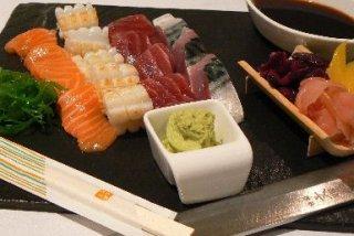 Receta de tataki de atún, pez espada y solomillo de ternera