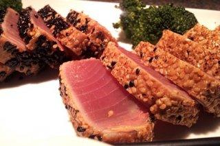 Receta de tataki de atún rojo