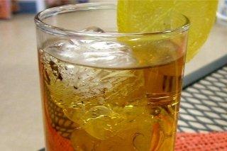 Receta de té helado con limón