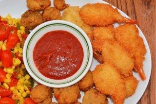 Receta de tempura de gambas