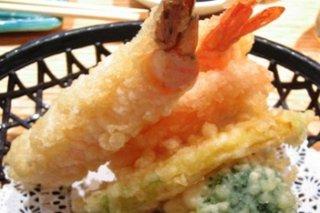 Receta de tempura de calamares, langostinos y tofu