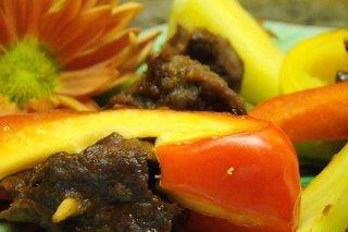 Receta de ternera en salsa de piña