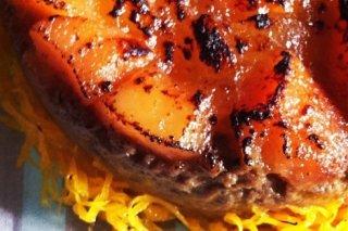Receta de timbal de foie y compota de membrillo y manzana