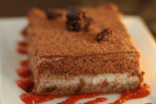 Receta de tiramisú de chocolate