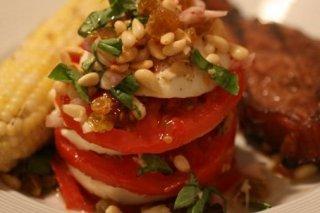 Receta de tomate con mozzarella