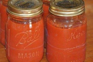 Receta de tomate frito en conserva