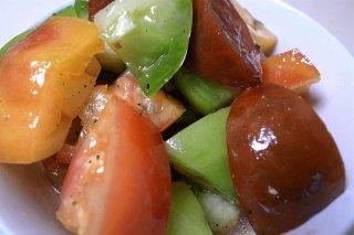Receta de tomates con orégano