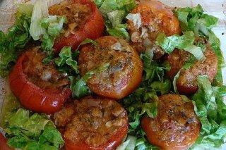Receta de tomates rellenos al microondas