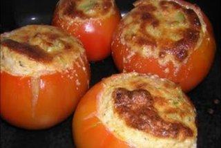 Receta de tomates rellenos de champiñones