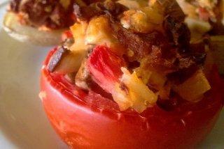Receta de tomates rellenos de patata