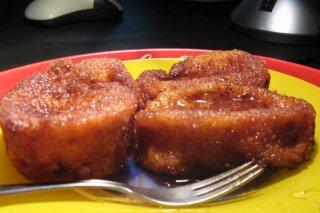 Receta de torrijas al aroma de azahar