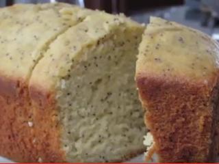 Receta de torta de amapola