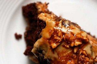 Receta de torta de chocolate con almendras