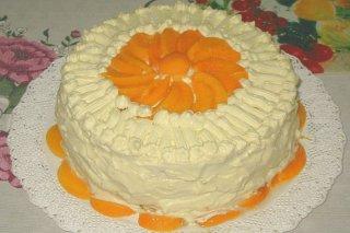 Receta de torta de durazno