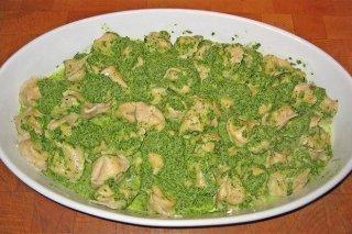 Receta de tortellini con espinacas