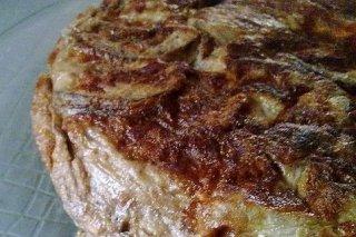 Receta de tortilla de berenjena