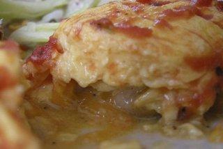 Receta de tortilla de calabacín con sobrasada