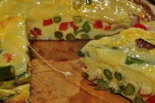 Receta de tortilla de espárragos con queso