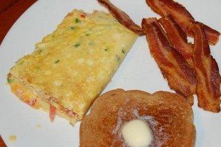 Receta de tortilla de espárragos y bacón