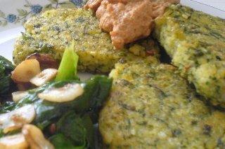 Tortilla de espinacas y cebolla receta for Cocinar espinacas