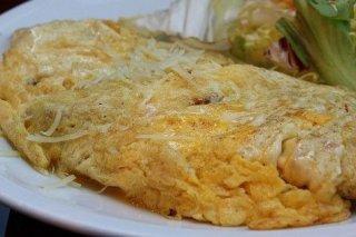 Receta de tortilla de jamón y queso